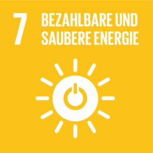 symbol: SDG Ziel 7 - bezahlbare und saubere Energie
